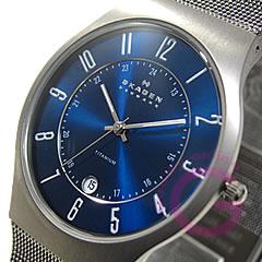 送料無料(一部地域を除く) 無料ラッピング 弊社1年保証 SKAGEN スカーゲン 233XLTTN ウルトラスリム あす楽対応 メンズウォッチ チタン 腕時計 メッシュ ランキングTOP10