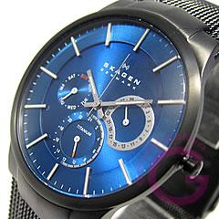 SKAGEN (Skagen) 809 XLTBN multifunction blue men's watch