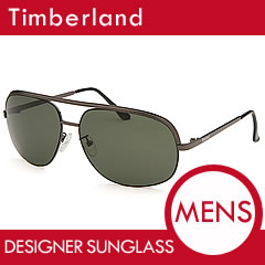 TIMBERLAND (Timberland) TB7130-08N 61 size dark-green sunglasses men