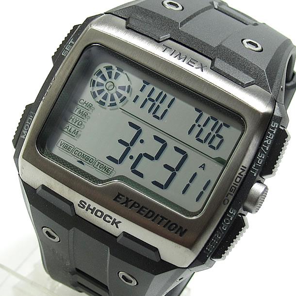 TIMEX (タイメックス) TW4B02500 Expedition Grid Shock /エクスペディション グリッドショック ラバーベルト ブラック メンズウォッチ 腕時計 【あす楽対応】