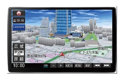 かつてない高画質・大画面ナビ! パナソニック SDカーナビステーション CN-F1X10D 高画質 10V型大画面 ストラーダ PREMIUM10