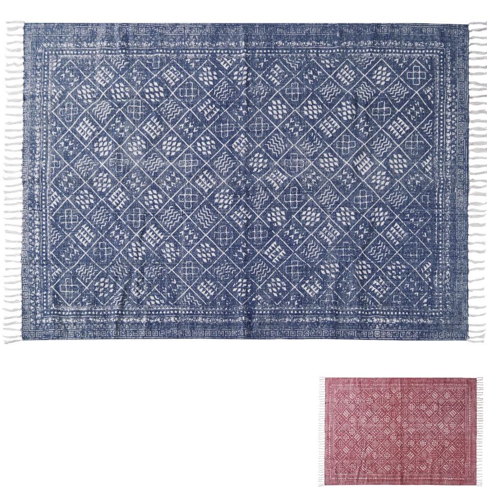 ラグ コットン 綿 100 & 洗える 裏面:スベリ止め加工 W 170 X D 120 ( 絨緞 じゅうたん 引っ敷き 絨毯 ラグ 氈 引敷 坐具 ラグマット マット 座具 )