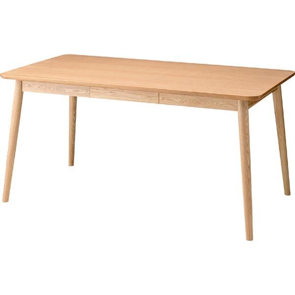 ヘンリー ダイニングテーブル ダイニングテーブル 幅150センチ 北欧スタイル ナチュラル ダイニングセット 食卓テーブル カフェ デスク 天然木 木製 西海岸 キッチン リビング 4人掛け おしゃれ シンプル 展示台