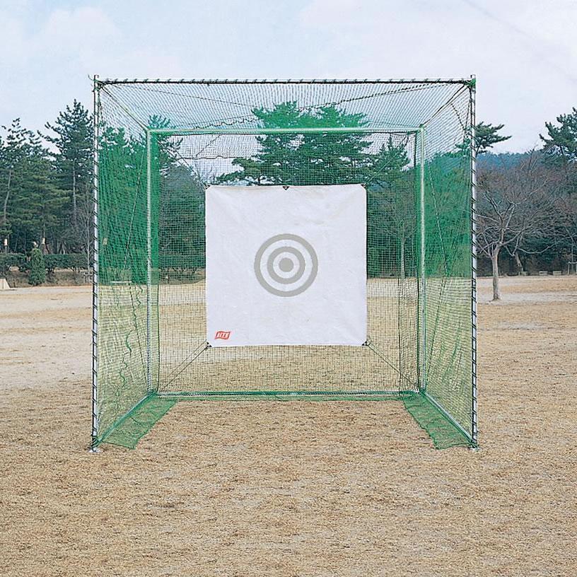 ライト 納期1ヶ月 配送費用・設置費用別途必要 ゴルフネット強力型 AB M-67【飛距離】