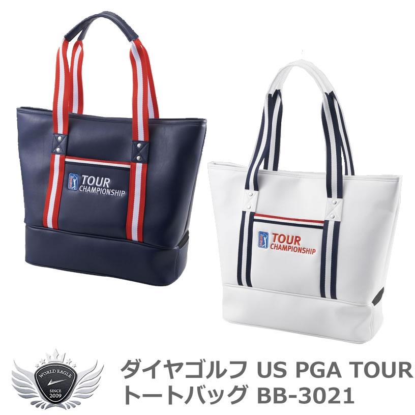 ダイヤゴルフ US PGA TOUR トートバッグ BB-3021