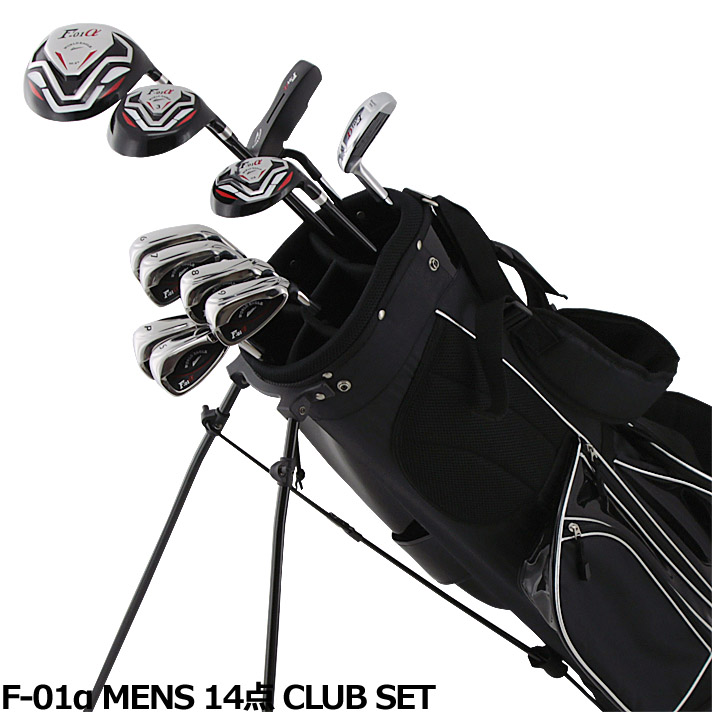 ワールドイーグル F-01α メンズ14点ゴルフクラブセットフレックスR /S 【右用】【WORLD EAGLE】【初心者 初級者 ビギナー】【送料無料】【あす楽】