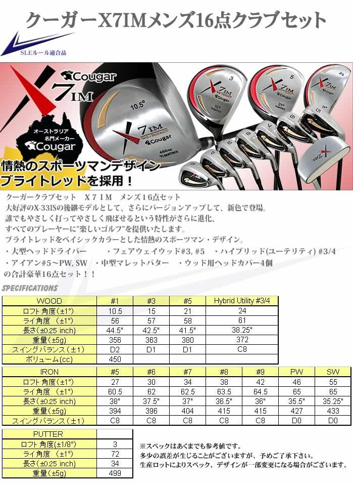 最終売り尽くし!X7im-e メンズ16点ゴルフクラブセット 右利き用フレックスR【初心者 初級者 ビギナー】【送料無料】【0824カード分割】【あす楽】