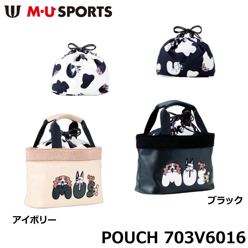MU SPORTS エムユースポーツ ポーチ 703V6016