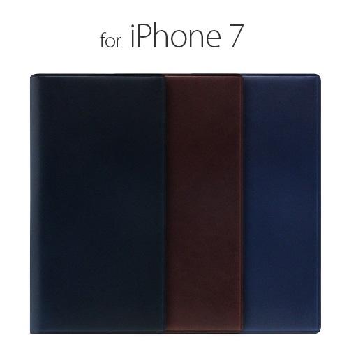 iPhone7手帳型 ケース カバー iPhone7 SLG Design  Buttero Leather Case ブルーSD8092i7 スマホ スマートフォン docomo au softbank本革 アイフォン セブン ポイント 送料無料 4580492330923