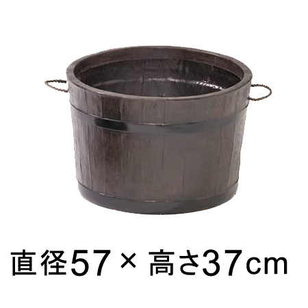 モルトプランター 58型 【メーカー直送・同梱不可・代引不可・返品不可】【ファイバーグラス鉢】