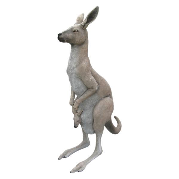 【送料無料】【メーカー直送・同梱不可・代引不可・返品不可】カンガルーの親子 / Kangaroo