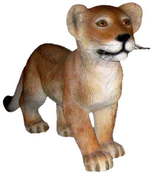 【送料無料】【メーカー直送・同梱不可・代引不可・返品不可】歩く子ライオン / Lion Cub - Standing