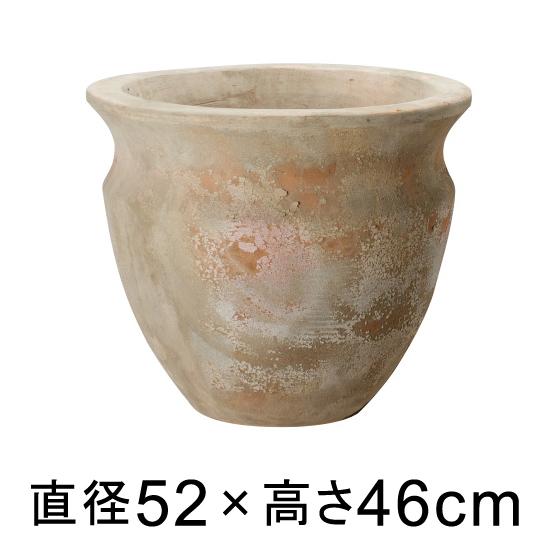 大型 おしゃれ 植木鉢 テラアストラ ベガ 52cm 【メーカー直送・同梱不可・代引不可・返品不可】【プロフェッショナル】