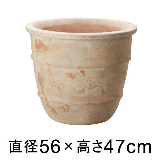 大型 おしゃれ 植木鉢 テラアストラ シリウス 56cm 【メーカー直送・同梱不可・代引不可・返品不可】【プロフェッショナル】