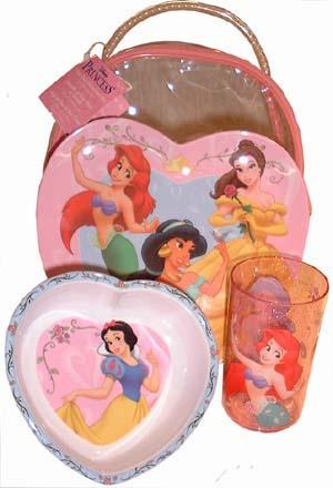 Disney Princess Kitchen Set Ariel Jasmine Min Belle Snow White Transparent Bag