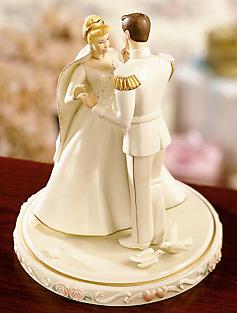 シンデレラ プリンスチャーミングレノックス 陶器製フィギュアCinderella's Wedding Day Cake Topperウエディングケーキトッパー置物 フィギュア