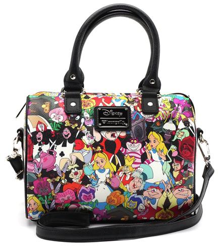 Alice In Wonderland Loungefly X Character Print Duffle Bag Duffel Boston