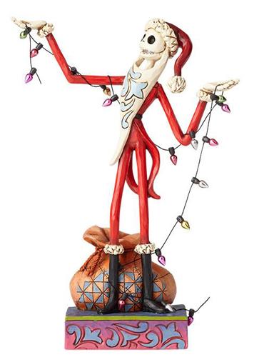 ディズニー ジム・ショアーSanta Jack with ChristmasThe Nightmare Before Christmasナイトメアビフォアクリスマスナイトメア ジャック サンタ置物 フィギュア