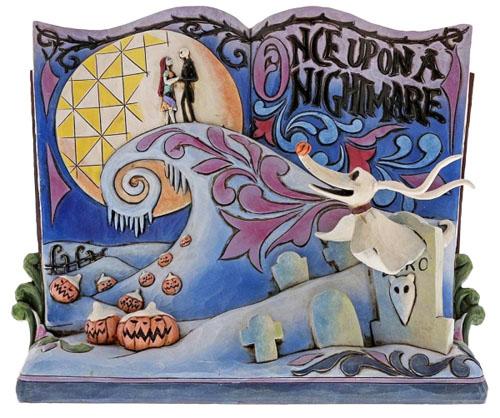 大人気!ディズニー トラディションシリーズOnce Upon A Nightmare StorybookNightmare Before Christmas Story Book Figurine置物 フィギュアナイトメア ビフォア クリスマス