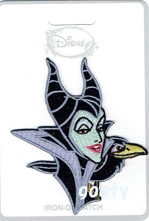 ヴィランズ Villains Sleeping Beauty Sleeping Beauty Maleficent Maleficent Emblem Patch Applique Lounge Fried Food Loungefly Maleficent Diablo