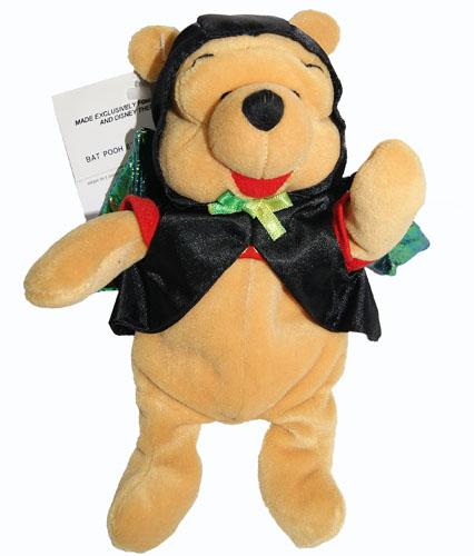 Excellent Winnie The Pooh Winnie The Pooh Bat Pooh Bat Halloween Pooh London Disney Store Bean Bag Stuffed Toy Uwap Interior Chair Design Uwaporg