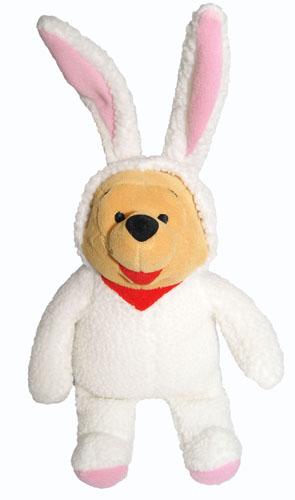 55f1fcf07bfc Costume Pooh bean bag stuffed toy of the Winnie-the-Pooh Winnie the Pooh  Easter Bunny Pooh Easter bunny Easter rabbit