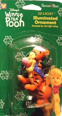 winnie the pooh tigger christmas lights illuminated ornaments