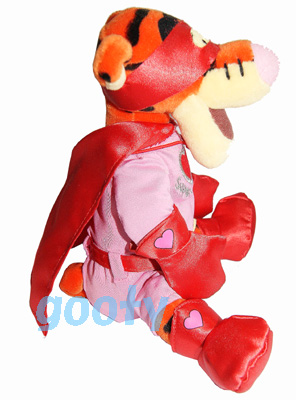 5f32093caeb3 Super Lover Tigger rare cessation of production product including the Winnie -the-Pooh Tigger U.K. Disney Winnie the Pooh Tigger bean bag Valentine  sewing