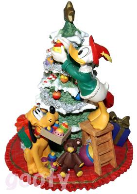 ドナルドダック プルートSANTA'S WORKSHOPJolly Tree Trimmersdonald pluto1993年 クリスマス 限定