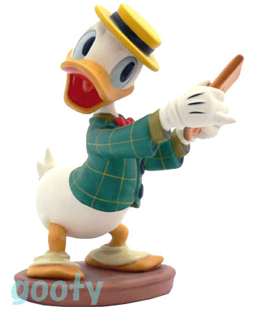 donald duck Mr. Duck Steps Out 60th Birthdayドナルドダック ダンス狂WDCC 60周年記念 1996年限定