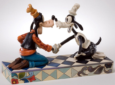 迪士尼健身房·shoagufi Goofy Goofy through the Years Goofy 80th Anniversary陈设品花样滑冰