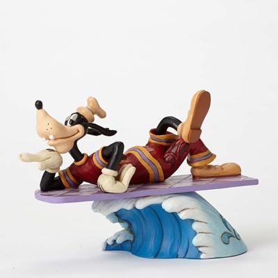 ディズニー ジム・ショアーGOOFY グーフィーCatch A WaveSurf Goofy Figurineぐーフィー サーフィン置物 フィギュア