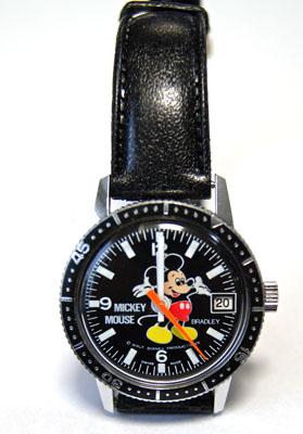 BRADLEY hand-wound watch divers Mickey Mouse Disney
