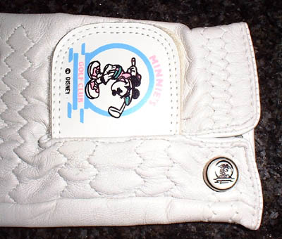 Golf Minnie mouse Disney ladies Golf Gloves