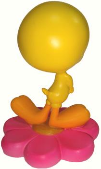 Tweety TWEETY figurine figure flower C