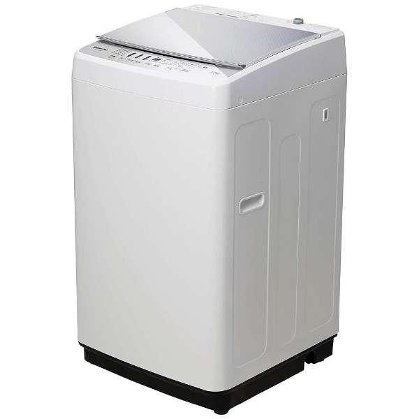 ハイセンス HW-G55A-W 全自動洗濯機(5.5Kg)ガラストップデザイン hisense【展示品】【送料込(北海道/九州/沖縄/離島別途)】【代引き不可】