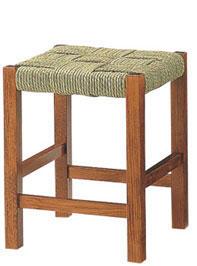 和風カウンタースツール:木場処ブラウンロータイプ(カウンターチェアー ハイチェア バーチェア 椅子 イス いす) 送料込み おしゃれ 北欧 訳あり ギフト 送料無料