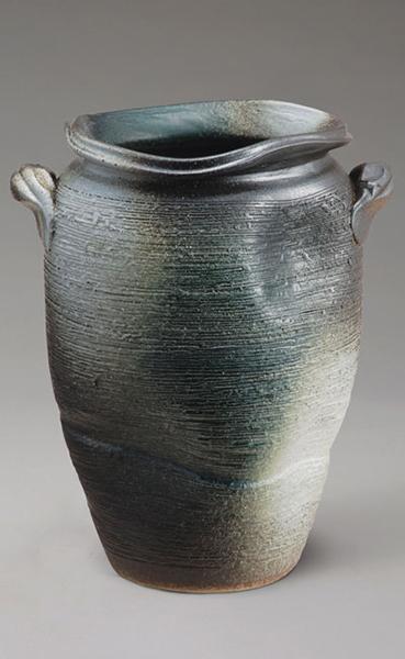 青窯変壷陶器の傘立て (傘立て 傘立て おしゃれ 傘立て 陶器 アンブレラスタンド) 送料込み おしゃれ 北欧 ギフト 送料無料