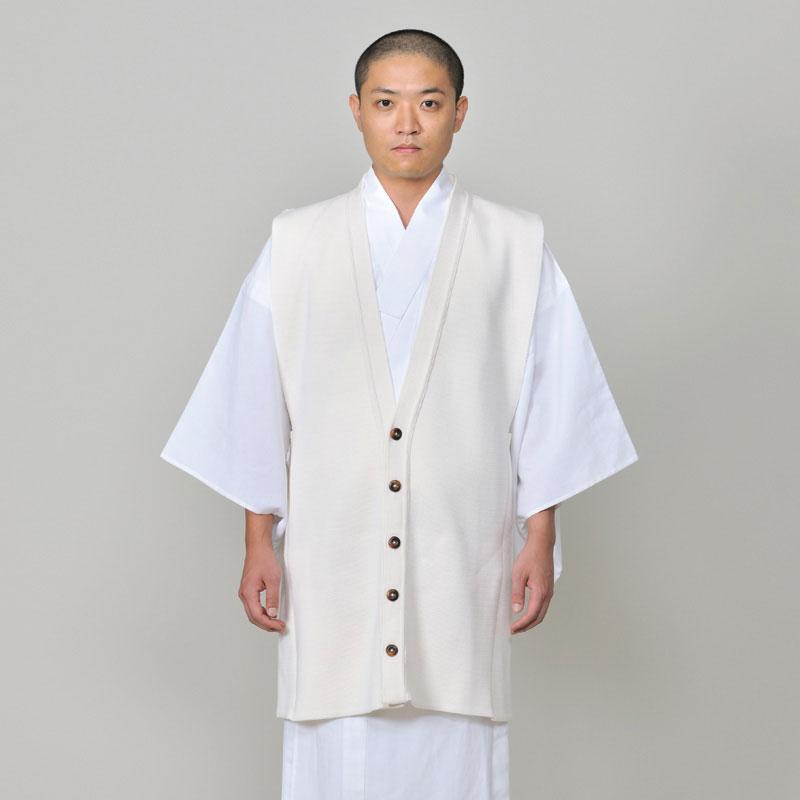 【送料無料】ホットたっちカーディガン(F)【白衣(はくい・はくえ)の上から着られる!ウール100%の日本製カーディガン】
