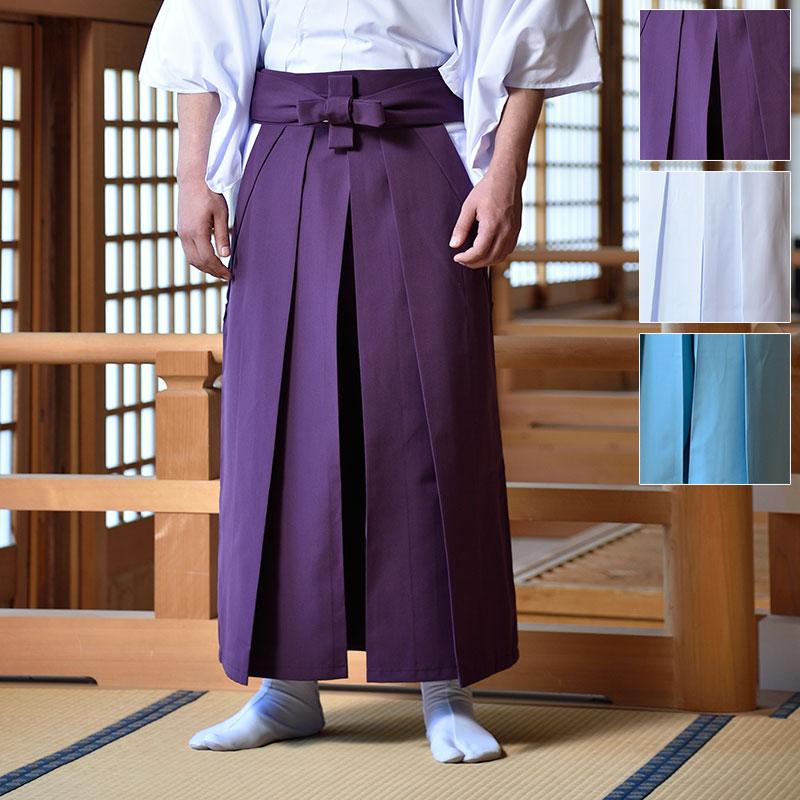 神職用 袴(紫・白・アサギ)(S-L)【送料無料】