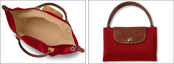 It is 翌々営業日発送 LONGCHAMP プリアージュ folding handbag tote bag red rouge Longchamp  tote bag 1623 089 545 sale present gift mini-bag Eco bag from the ... 7f25d30a3e5c5