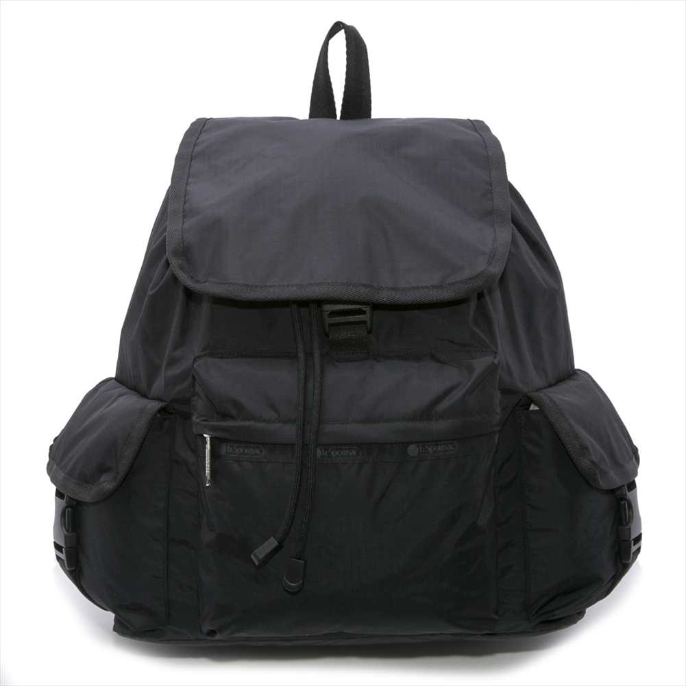 LeSportsac 7839 5982 VOYAGER BACKPACK BLACK 女性用 リュックサック レスポートサック