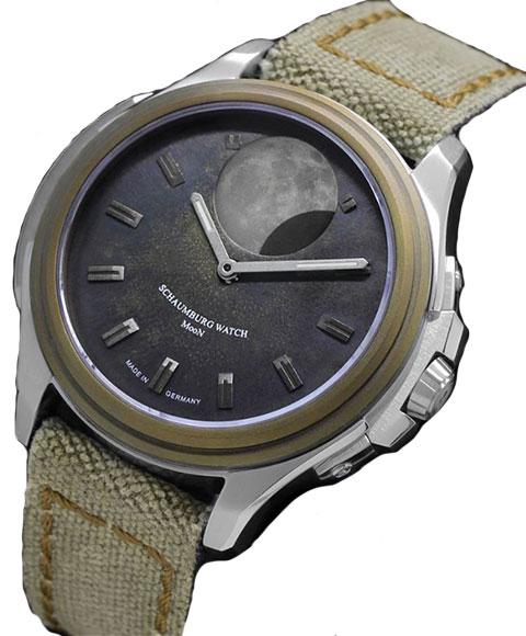 シャウボーグ ムーンクレーター MooN Crater 腕時計 自動巻 メンズ SCHAUMBURG