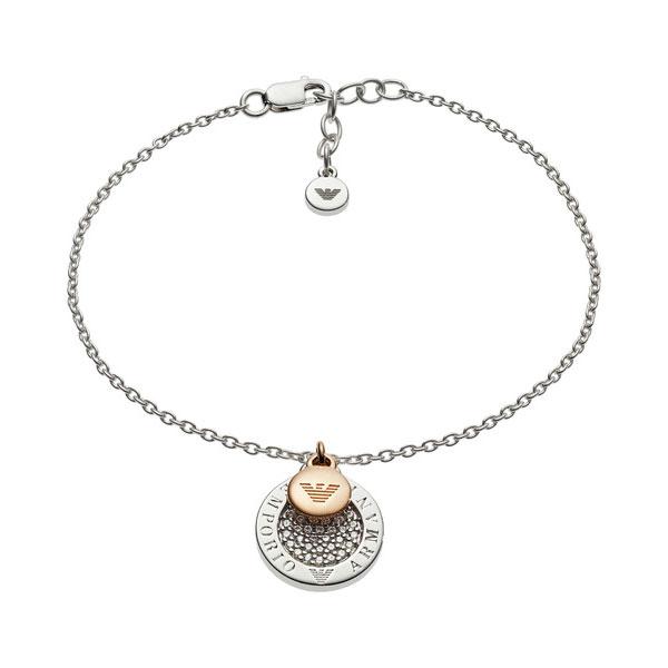 エンポリオアルマーニ bracelet EG3378040 シルバー/ゴールド ジュエリー ブレスレット EMPORIO ARMANI
