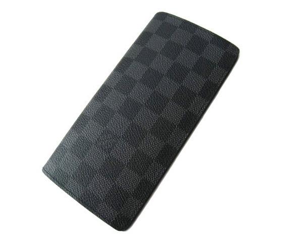 即納可能! ルイヴィトン 二つ折長財布 ダミエグラフィット ブラザ LOUIS VUITTON N62665 ヴィトン 財布 レディース メンズ ギフト