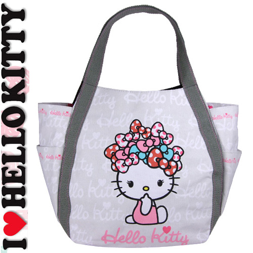 Hello Kitty series 8千 yen or more in purchases 20 Sierra ☆ Hello Kitty tote  bag canvas bag A4 ladies large 96235d9d46e53
