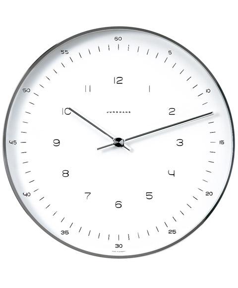予約受付中(納期:未定) ユンハンス マックスビル 367 6048 00 掛時計 JUNGHANS Max Bill Wall Clock 367/6048.00