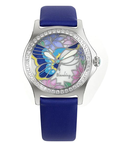 ワケあり アウトレット Blauling ブローリング レディース 腕時計 BLM1131152 ブルー系