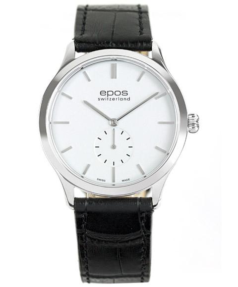 エポス ラウンド 3408WH 腕時計 手巻 メンズ epos