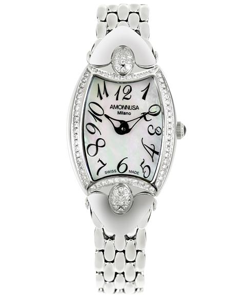 ワケあり アウトレット AMONNLISA アモンリザ レディース 腕時計 744E-WHDM クロノグラフ